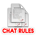 Chat room rules and guidelines