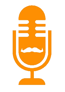 Andy Ward vocal booth Mofo Movember logo