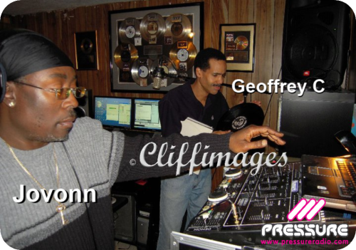 Jovonn joined Geoffrey C live on Pressure Radio