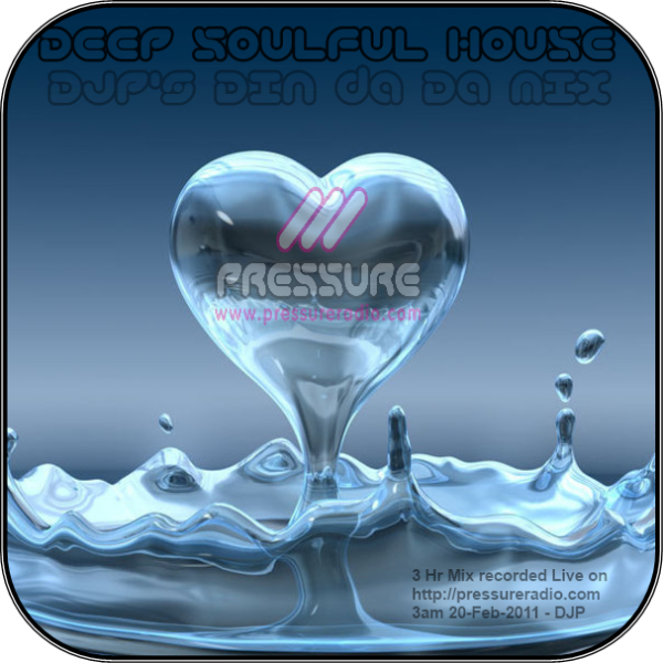 DJP's 3hr Deep Soulful house mix session image