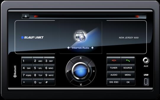 internet radio in your car blaupunked image