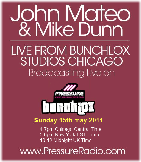 John Mateo (Mateo & Matos) & Mike Dunn live from bunchlox studio on Pressure Radio image