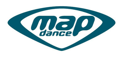 map dance record label logo image