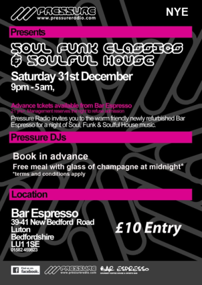 new years eve soulful house party luton uk