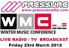 WMC 2012  March 23rd Event Live Radio TV broadcast