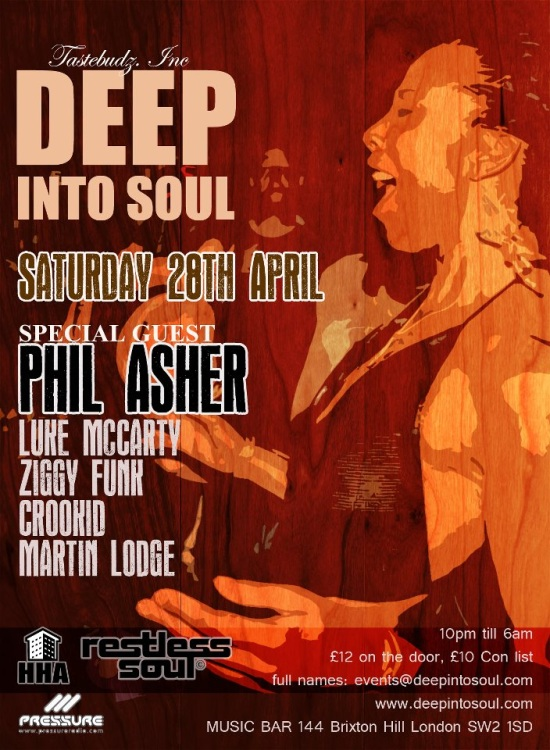 deep into soul soulful house event sat-28-april
