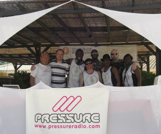 Pressure Radio Family at Vocal booth Weekender 2012 photo 1
