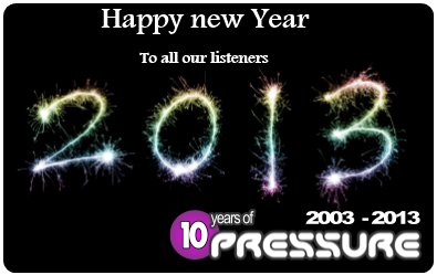Happy new Year from Pressure Radio image