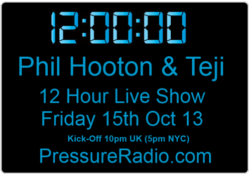 Phil Hooton 12 Hour Mix radio show