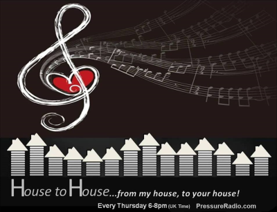 Julie Prince House to House radio show on Pressure Radio