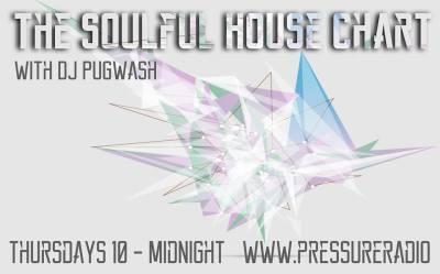 Soulful house chart image flyer
