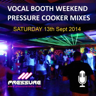 Pressure Cooker Saturday 13th Sept 2014