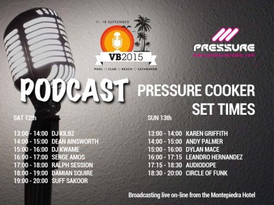 Vocal Booth Weekender 2015 Pressure Cooker-podcast
