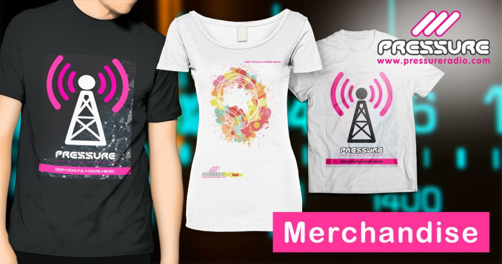 Pressure Radio T Shirts and Murchandise Image