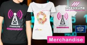 Pressure Radio T-Shirt UK EU Store