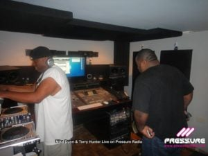 Terry Hunter and Mike Dunn live on Pressure Radio Photo image 8