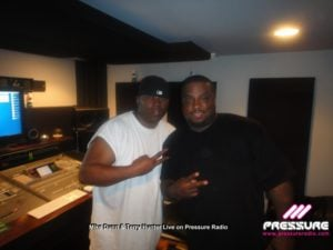 Image 6 Mike Dunn and Terry Hunter live on Pressure Radio