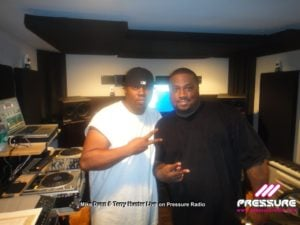 image 1 Mike Dunn and Terry Hunter live on Pressure Radio