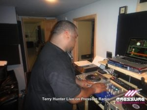 Terry Hunter Soulful house legend DJ / Producer live Pressure Radio photo image