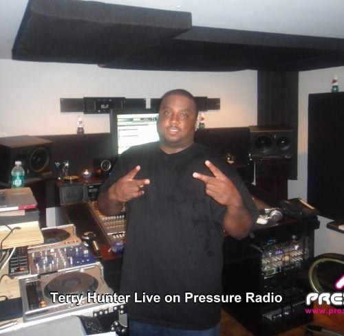 Terry Hunter live on Pressure Radio photo image 2