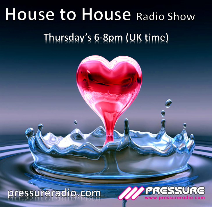 Julie Prince House to House Radio Show heart