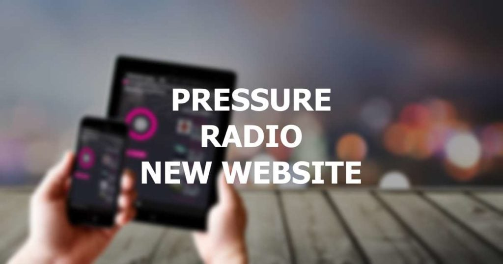 Pressure Radio New Website image