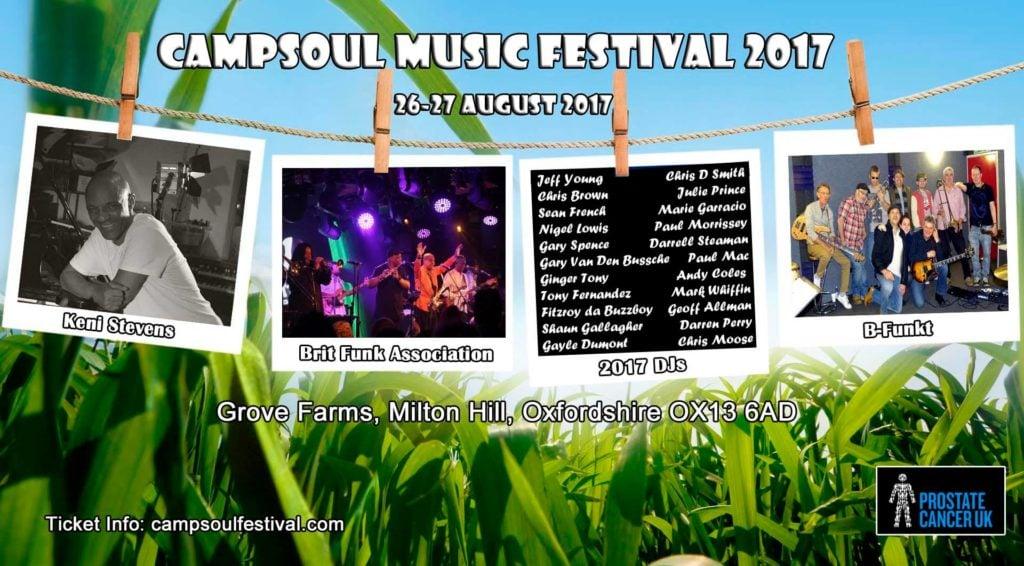 Campsoul Festival 2017 online flyer image