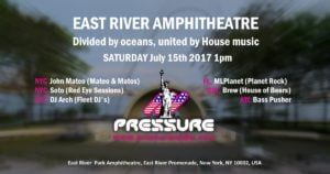 East River Amphitheater event July-15th-2017-flyer-image