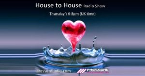 Julie Prince House to House red heart splash image
