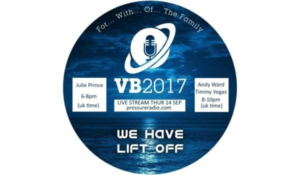 Julie Prince and Soul Central Live from Vocal Booth 2017