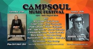 Campsoul Music Festival 2018 flyer image