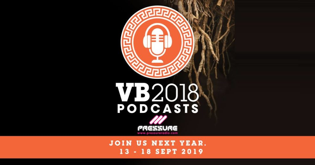 Vocal Booth Weekender 2018 Pressure Cooker Podcast wide image