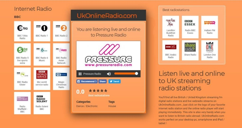 UK Online Radio