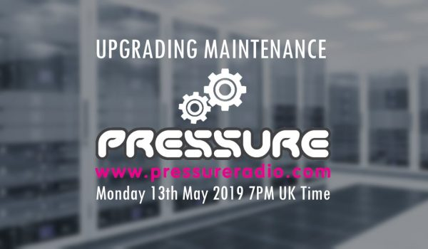 Advanced Notice Maintenance on Pressure Radio Website
