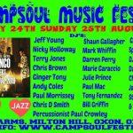 Campsoul Music Festival 2019 flyer image