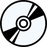 CD Compact Disc Icon Image