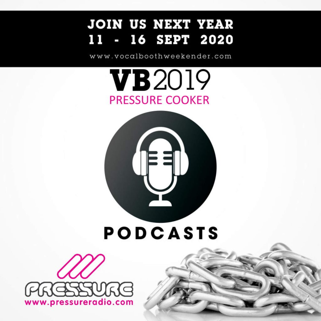VB2019 Pressure Cooker Vocal Booth Weekender 2019 image