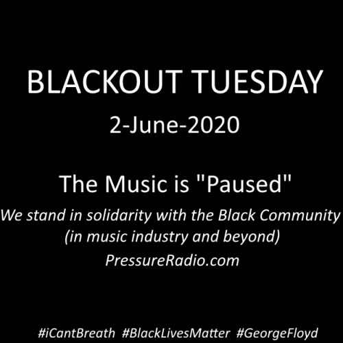 pressure Radio Blackout Tuesday The Music is Paused