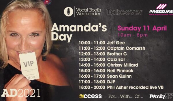 Amanda Day 2021 Pressure Radio / VB Takeover